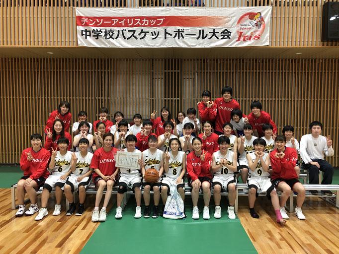 3位:豊田市立崇化館中学校