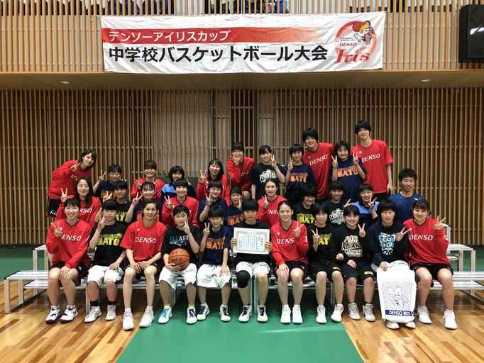 2位:豊田市立井郷中学校