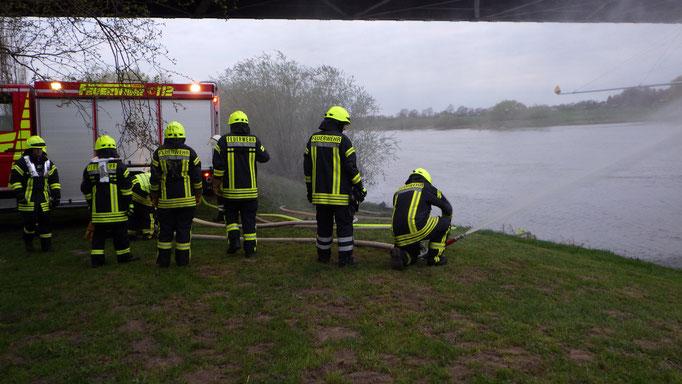 Üben an der Weser