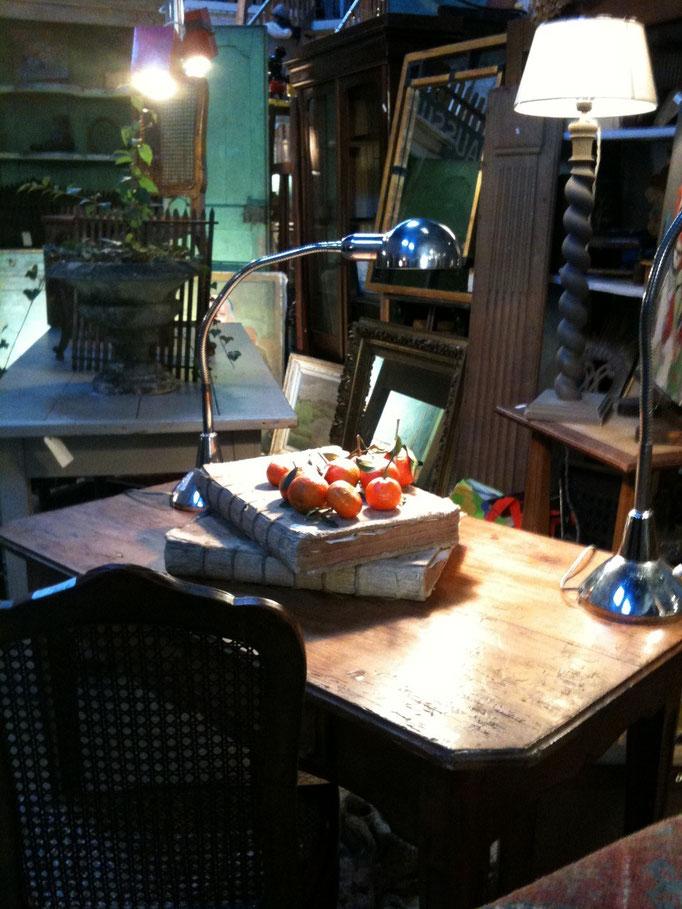 table xviiiéme, lampe charlotte periand
