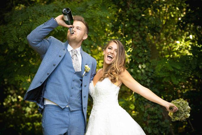 Premium Wein Weingut Hochheim, Hochzeitsbild
