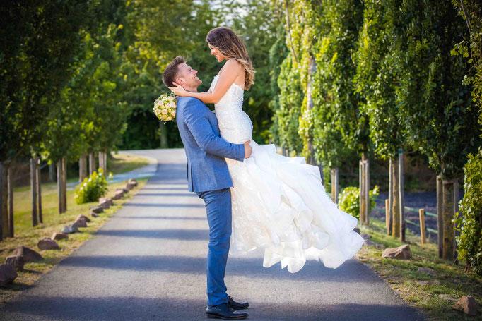 Baumallee Weingut Flick, Hochzeitsfoto, Hochzeitsfotograf Ralf Riehl