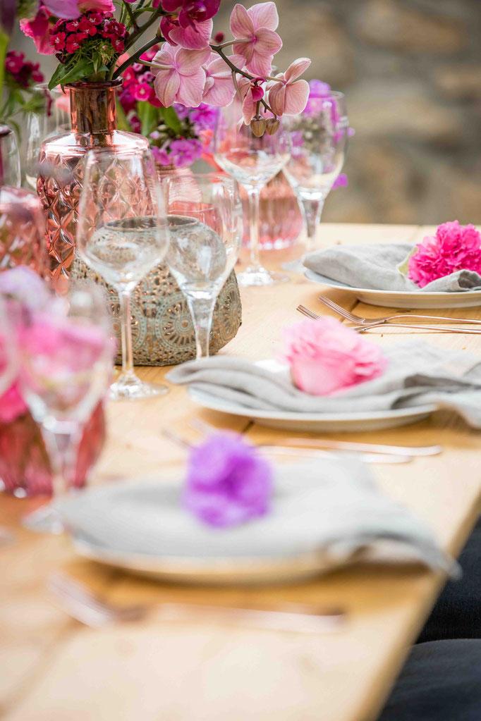 Dekorative Ideen für eure Hochzeit