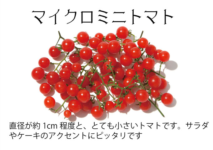 【アオベジ】マイクロミニトマト