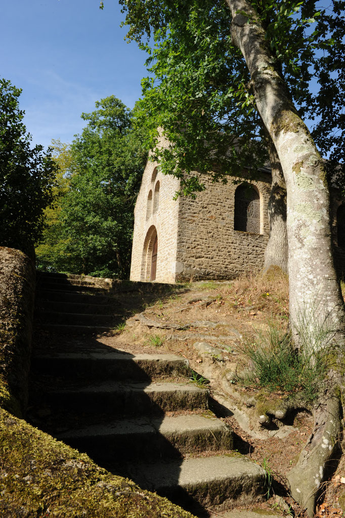 Chapel Fontaine-Daniel - Mayenne ArtSpace Gîte