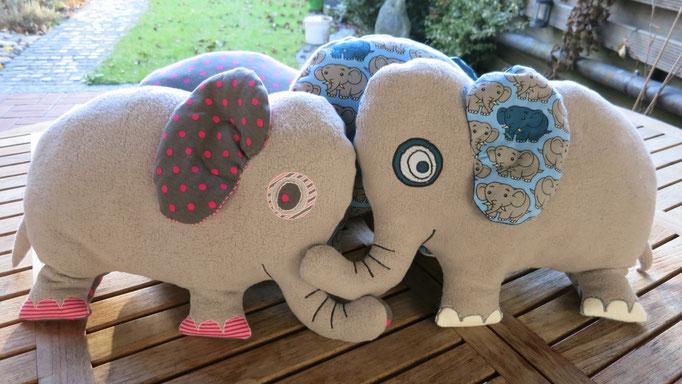 Kuschelkissen Elefant