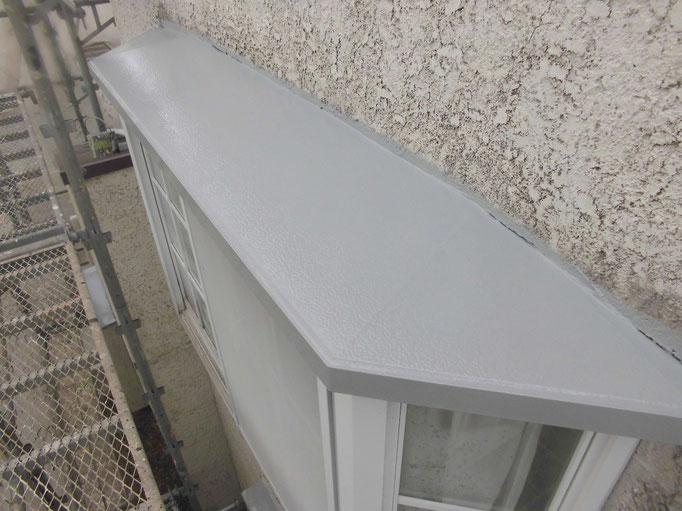 出窓上トタン/錆止め塗装