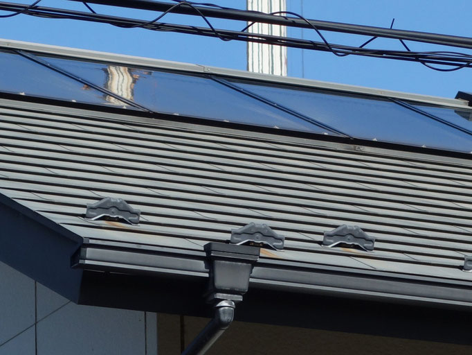 屋根(ガルバニウム鋼板)/色褪せ