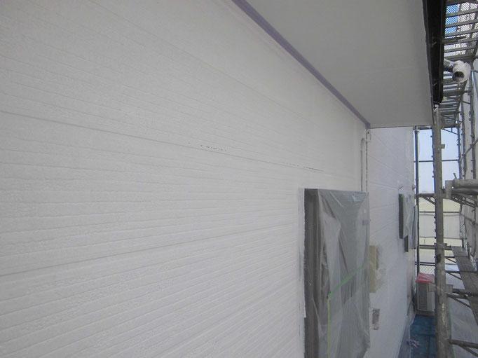 外壁/高圧洗浄、下地処理、下塗り塗装