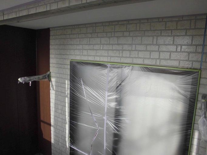 外壁/施工中