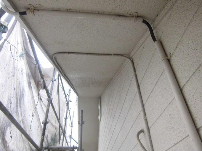軒裏天井/艶引き、退色、くすみ