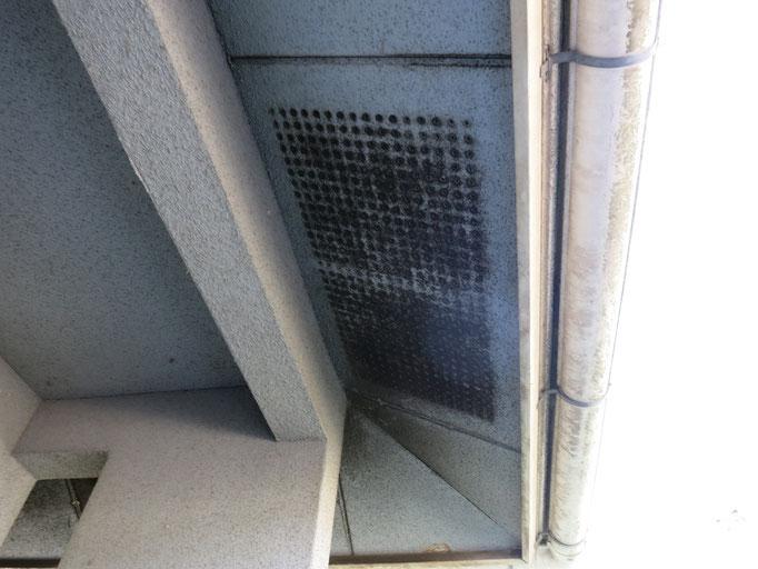 軒裏天井/くすみ、汚れの付着