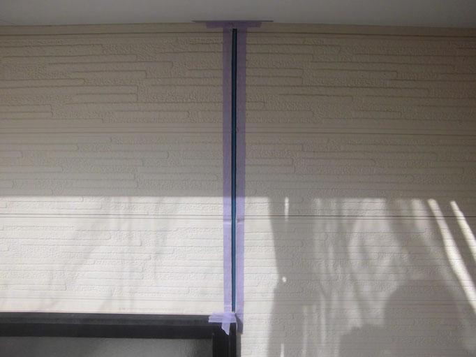 外壁ジョイントシール/マスキング、プライマー塗布