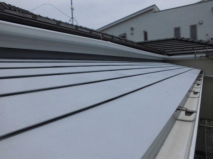 テラス庇鉄板/錆止め塗装