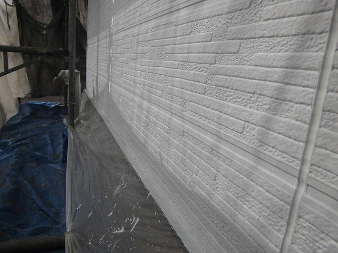 水切鉄板/高圧洗浄、ケレン、下地処理、錆止め塗装