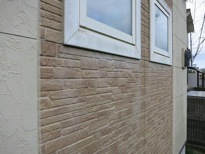 外壁/劣化した付帯部の塗料の垂れ