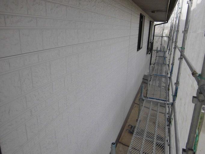 外壁(サイディング)/退色、艶引き