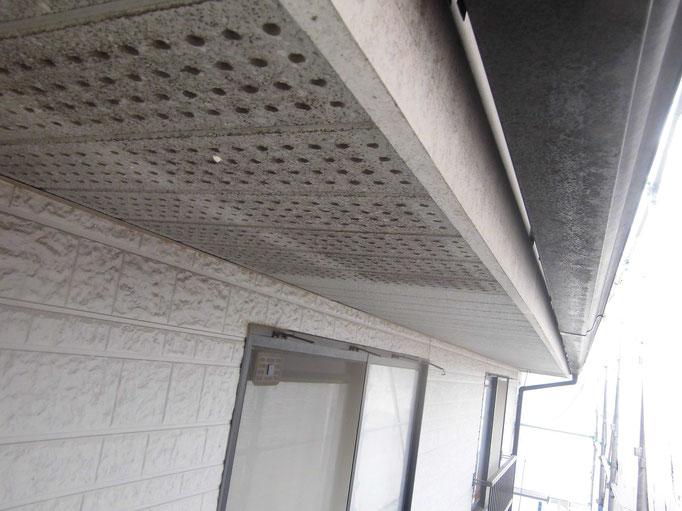 軒裏天井/汚れ、くすみ