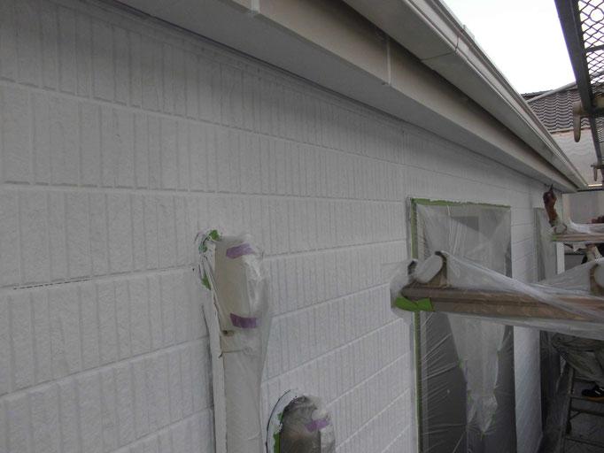 外壁(サイディング)下塗り塗装