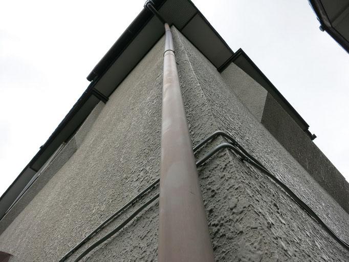 竪雨樋/退色