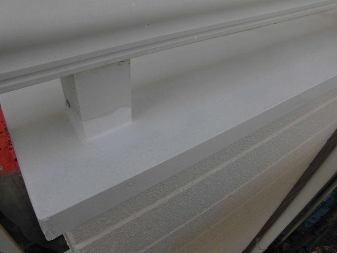 ベランダ笠木・手摺/高圧洗浄、下地処理、錆止め