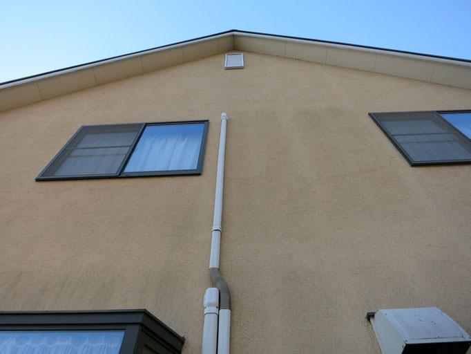 外壁/汚れの付着、撥水性の低下