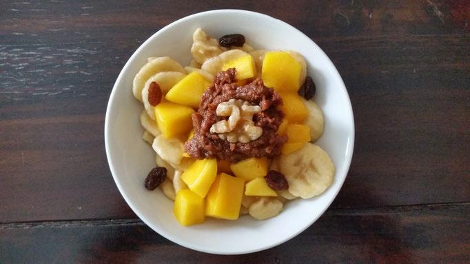 Basisches Müsli zum Frühstück