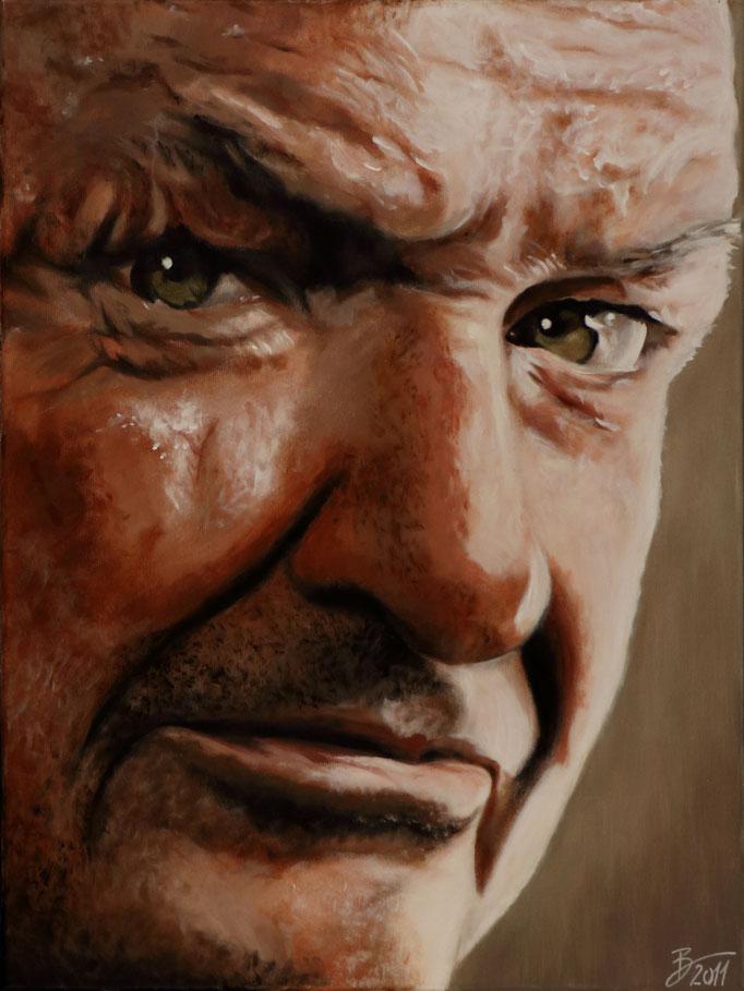 Terry O'Quinn - 60x80cm - Acryl auf Leinwand