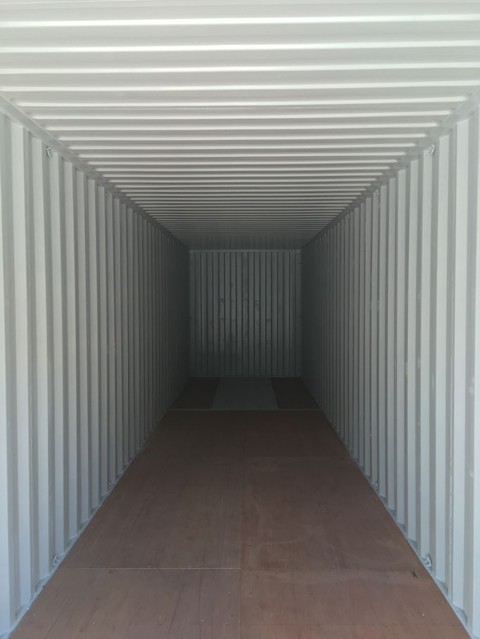 Container Holzboden Wooden Flooring Innen  Inside