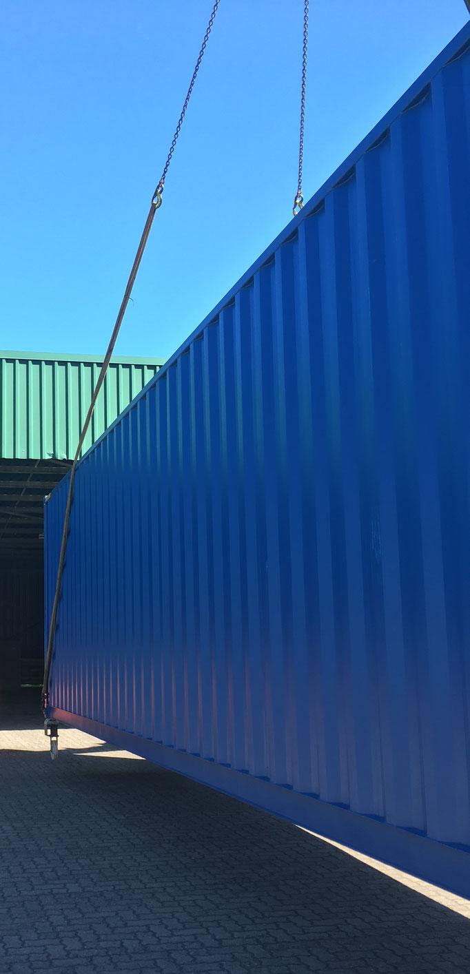 Container Langseite