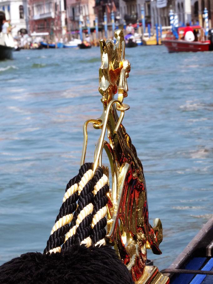 Cordages de gondole, Venise, Italie