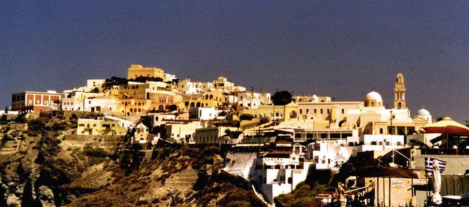 Vue panoramique, Santorin, Grèce