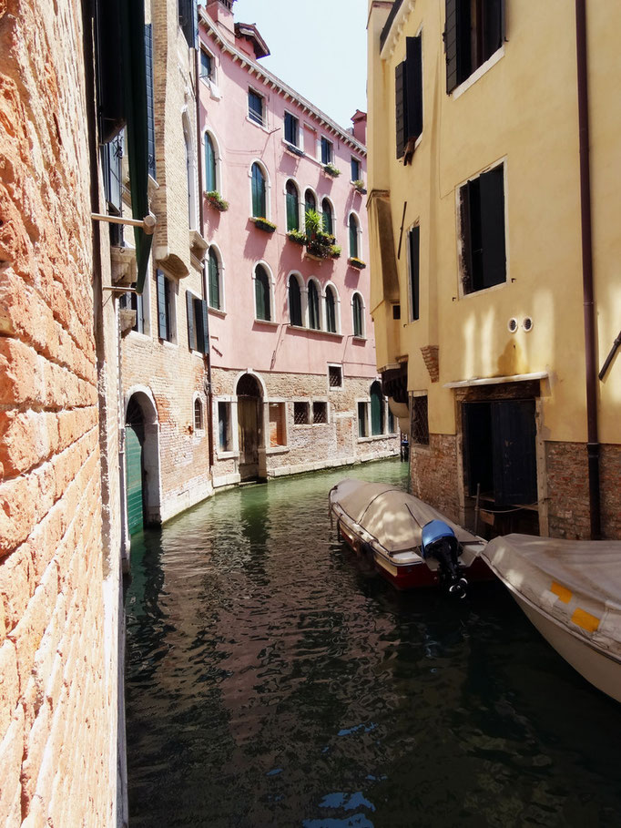 Paysage vénitien, canal pittoresque, Venise, Italie