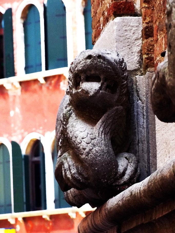 Gargouille, Venise, Italie