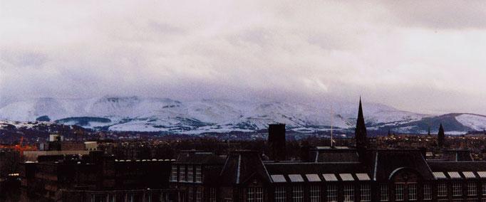 Neiges éternelles, Vue panoramique, Edimbourg, Ecosse