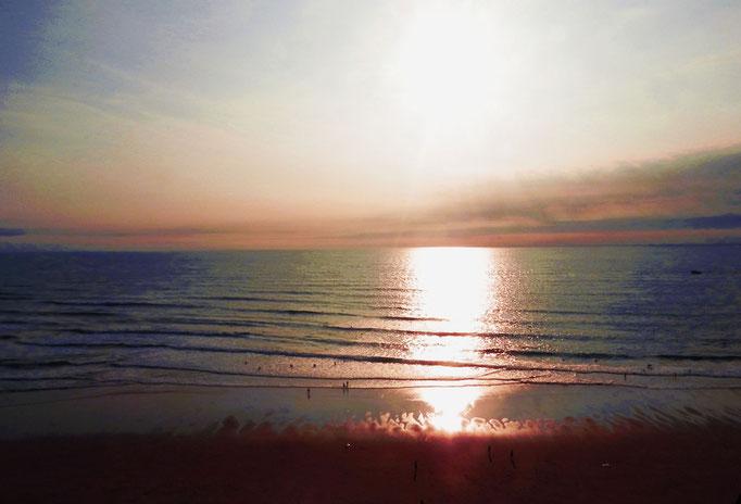 Coucher de soleil, Sud Ouest, France