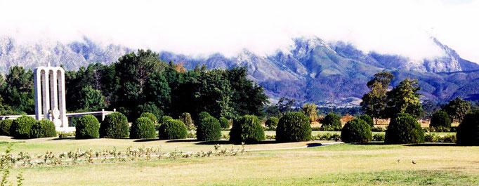 Territoire Huguenot dont l'illustre famille s'est installée en Afrique du Sud depuis la fin du XVIIe Siècle