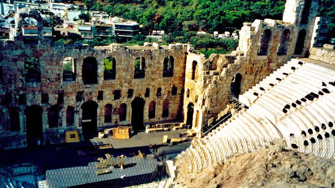 Théatre Odéon d'Hérode d'Atticus, Athènes, Grèce