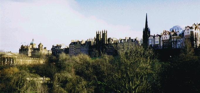 Edimbourg, Vue panoramique, Ecosse