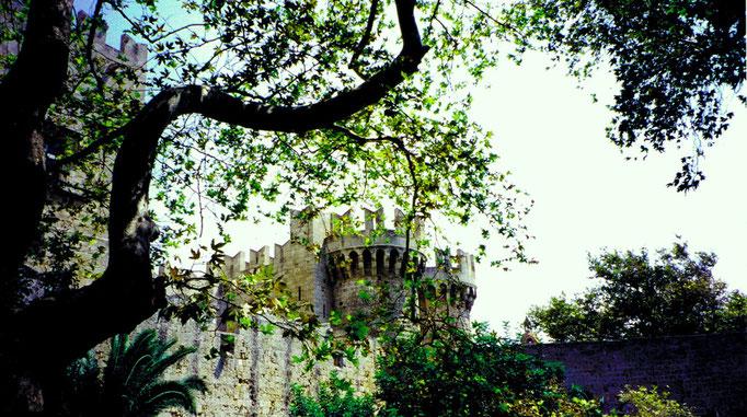 Palais des Grands Maîtres, Rhodes, Grèce