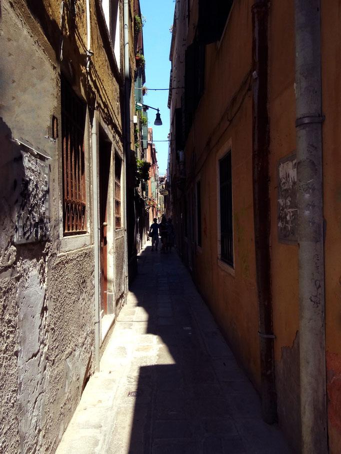 Ruelle, Venise, Italie