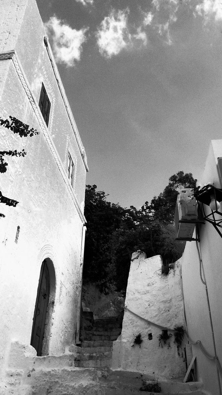 Ruelle de Lindos, Grèce