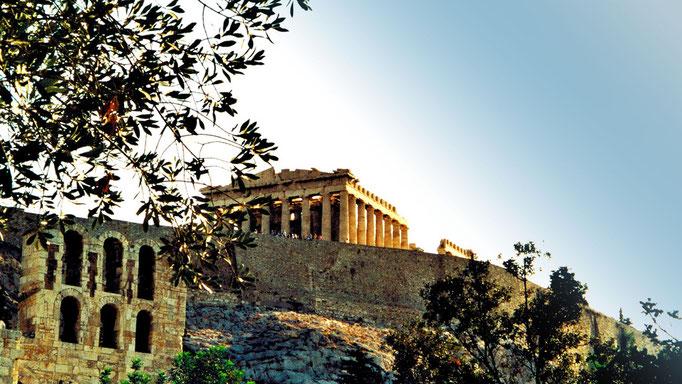 Portique des Caryatides - Temple d'Athena et de Poséidon - Athènes- Grèce