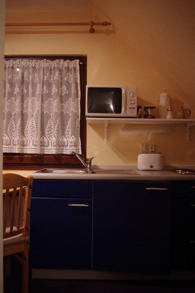 Nordberlin-Unterkunft - Apartment 2 - Kochnische