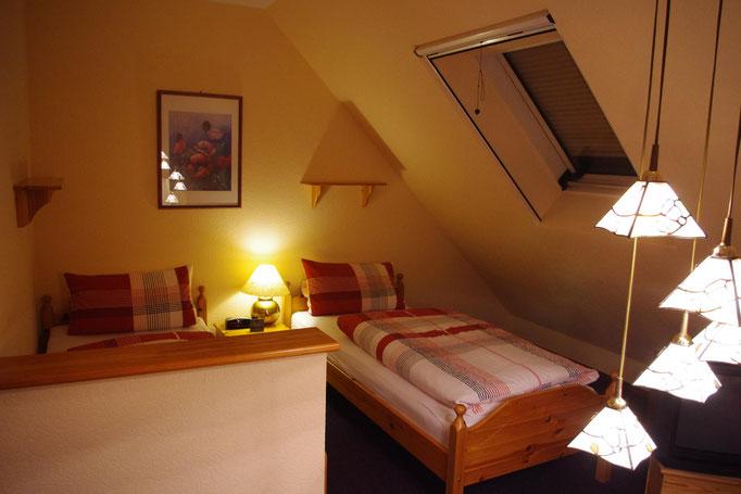 Nordberlin-Unterkunft - Apartment 2 - Schlafbereich