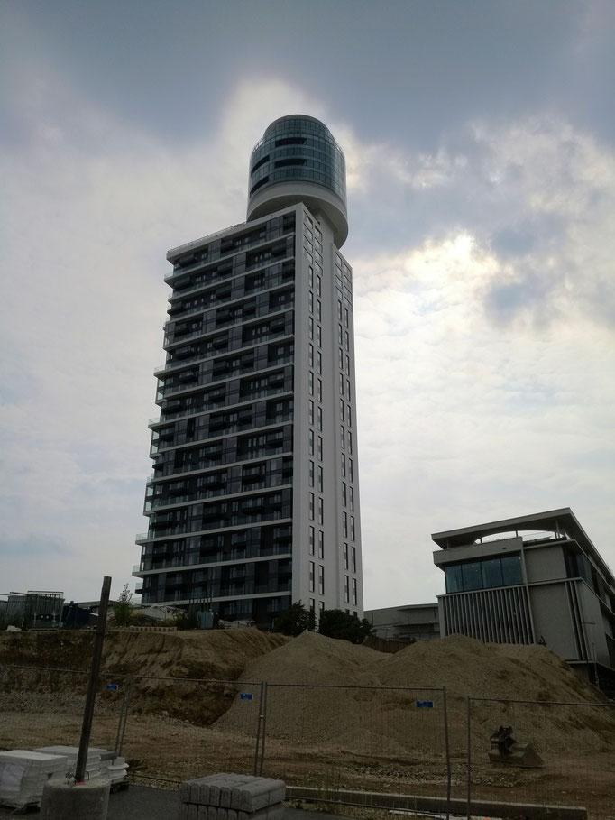 Neuer Henninger Turm eingesandt von Heiner Beitz / Frankfurt am Main