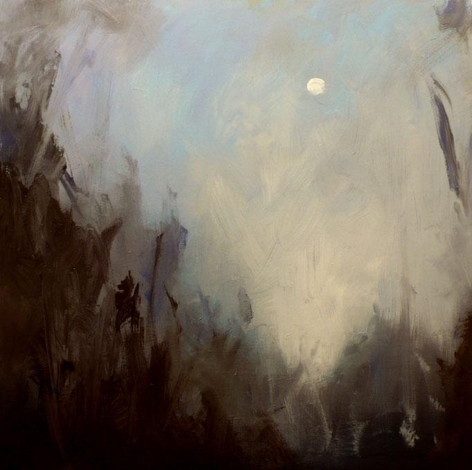 Winter Moon-36x36