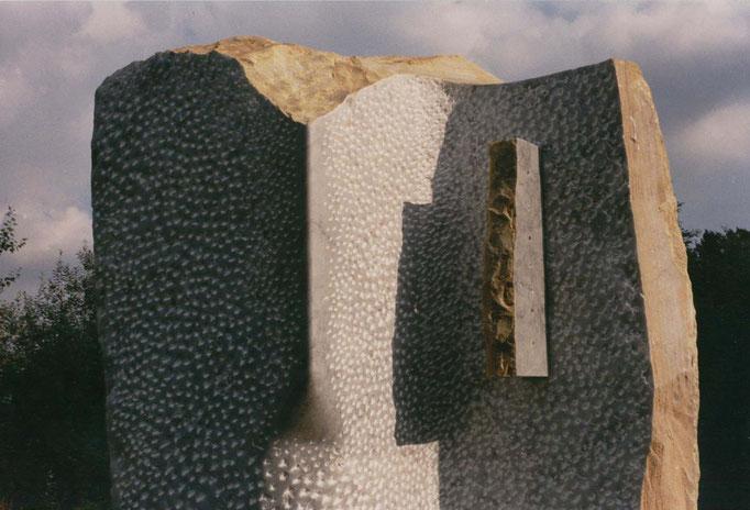Genesis - 1991 - Syke (Germania) - Marmo - 3,00 x 2,00 x 1,00 m