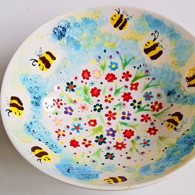 Viele Ideen zum Keramik bemalen - Keramik Malerei bei Artcuisine