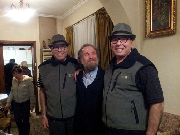 The Twins with George